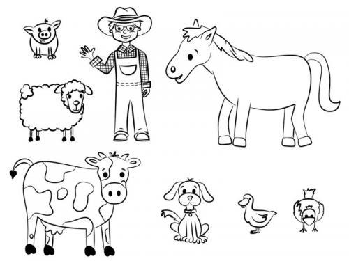 animaletti fattoria