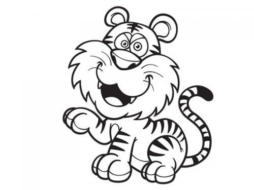 baby tigre