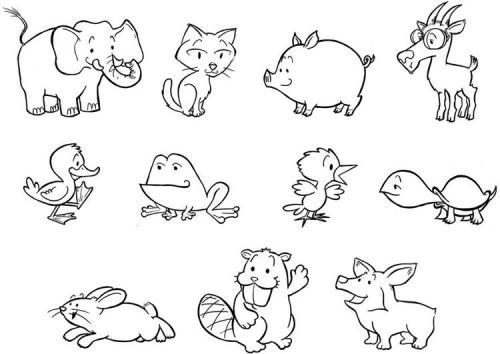 animali stilizzati