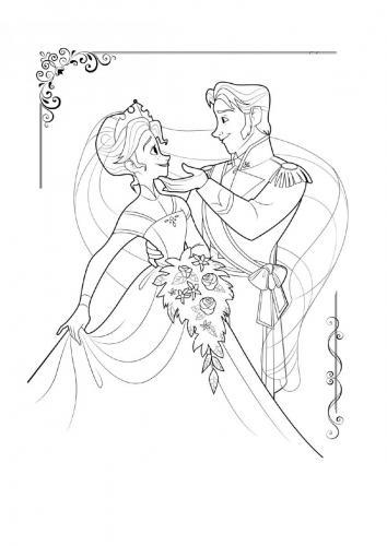 anna e il principe ballano