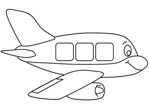 aereo facile da disegnare
