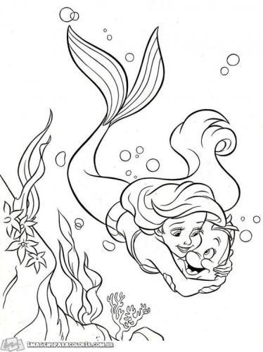 Ariel e Flounder