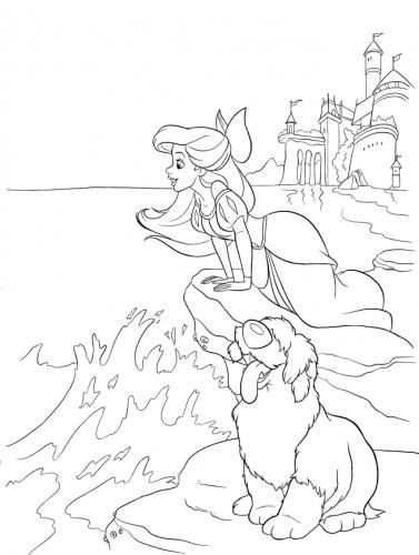 Ariel e il cane