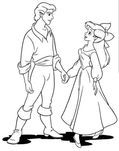 Ariel ed Eric mano nella mano