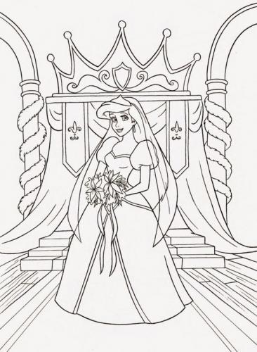 Ariel da sposa
