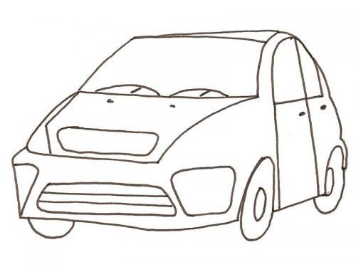 auto colorare bambini