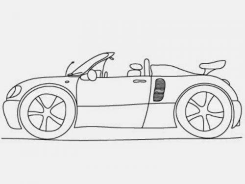 auto disegnare