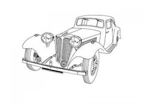 automobile disegno
