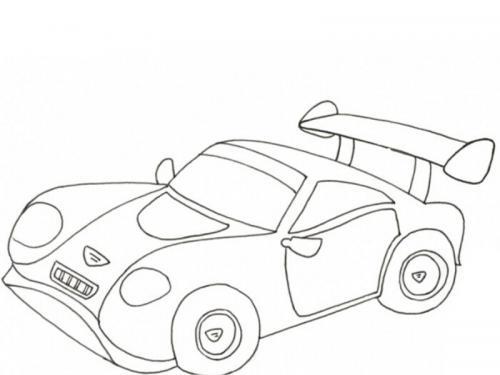 automobili da colorare