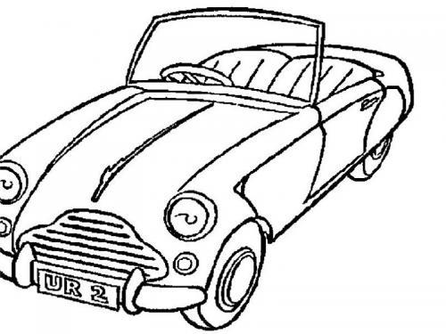 automobile colorare bambini