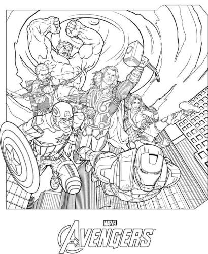 Avengers immagini