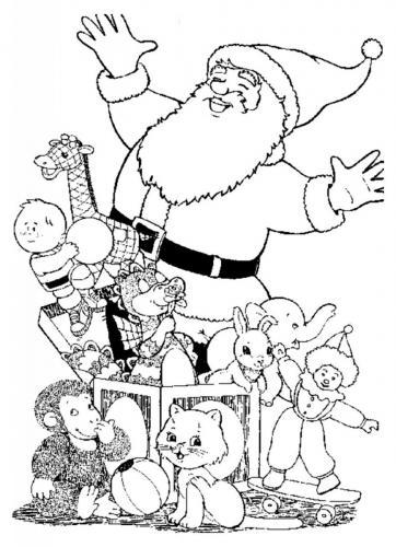 Babbo Natale con i regali