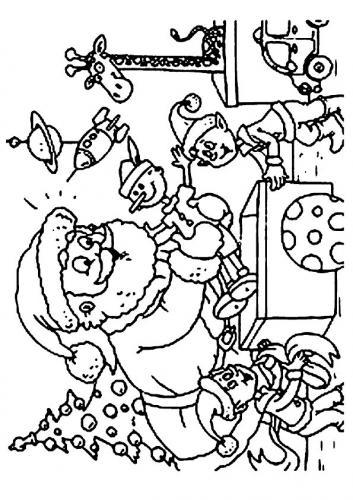Babbo Natale Da Colorare I Disegni Più Belli A Tutto Donna