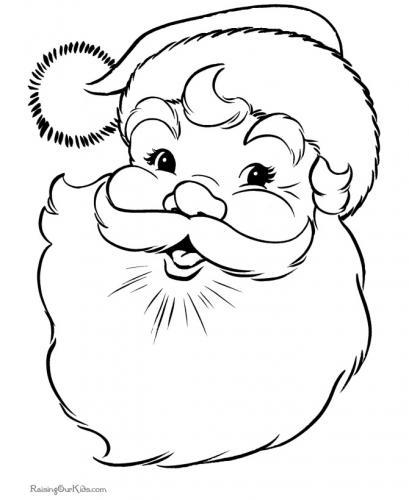 Babbo Natale Da Colorare I Disegni Piu Belli A Tutto Donna