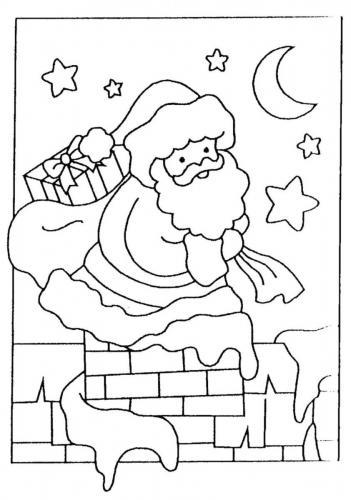Disegni Da Colorare Gratis Di Natale.Babbo Natale Da Colorare 104 Disegni E Immagini Natalizie Da Colorare A Tutto Donna