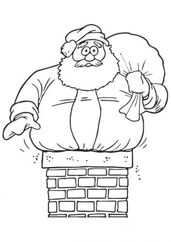 Babbo Natale incastrato
