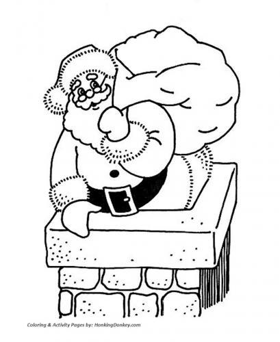 Babbo Natale in consegna