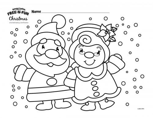 Mr. & Mrs Claus