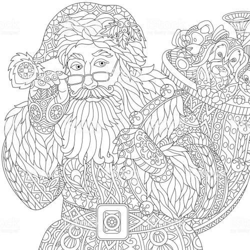 Babbo Natale in versione stilizzata