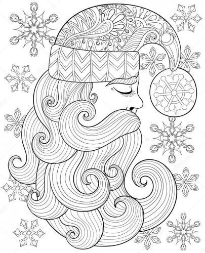 Babbo Natale stilizzato