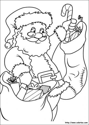 Babbo Natale prepara i regali
