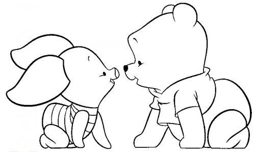 baby pimpi e baby- pooh