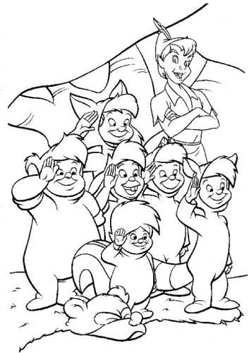 bambini sperduti peter pan immagini