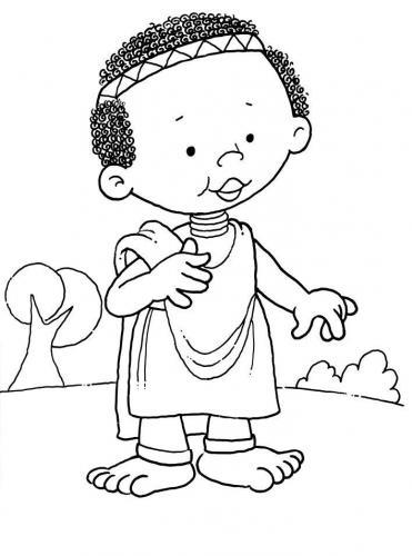 bambino con la tonaca