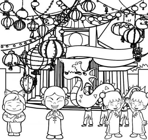 bambini in festa