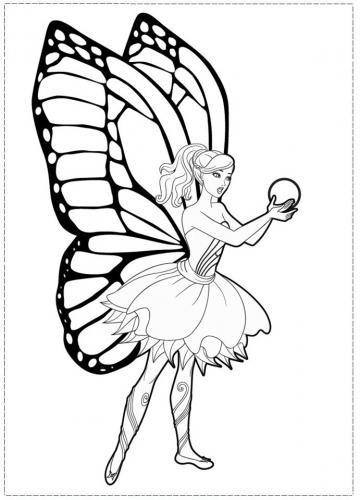 barbie con le ali