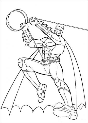 batman disegno