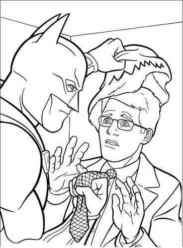 batman smaschera un criminale