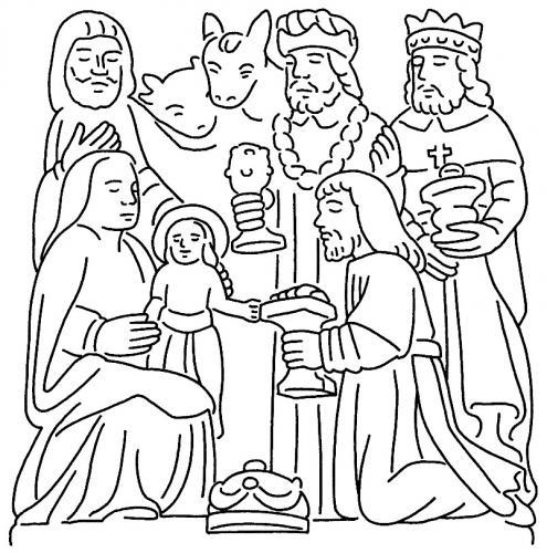 Natività e Re Magi