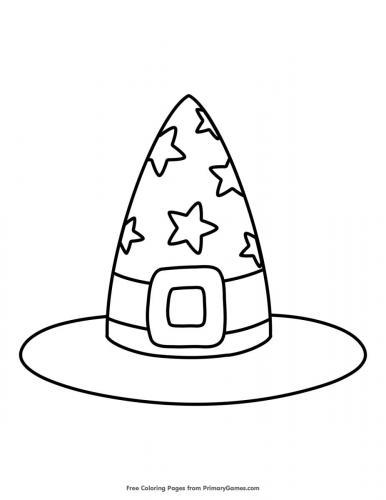 Cappello della Befana con le stelle