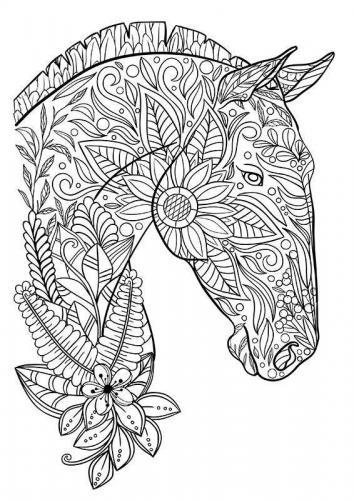 bellissimo cavallo stilizzato
