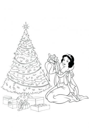 Biancaneve a Natale