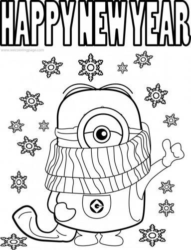 buon anno minions