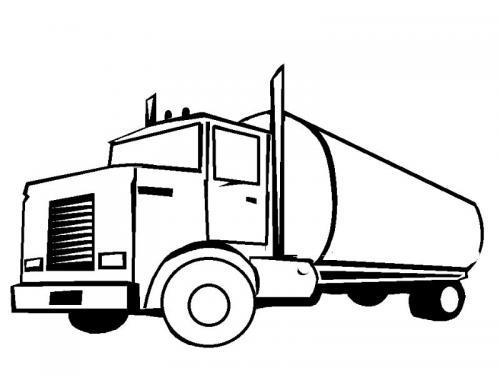 camion colorare