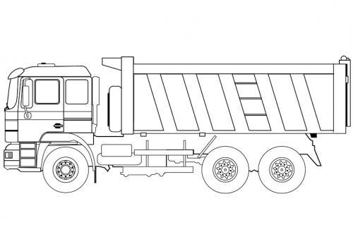 camion da colorare online