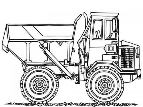 camion disegnare