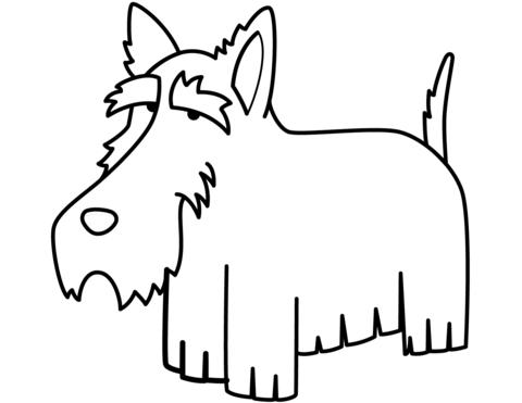 cane disegno per bambini