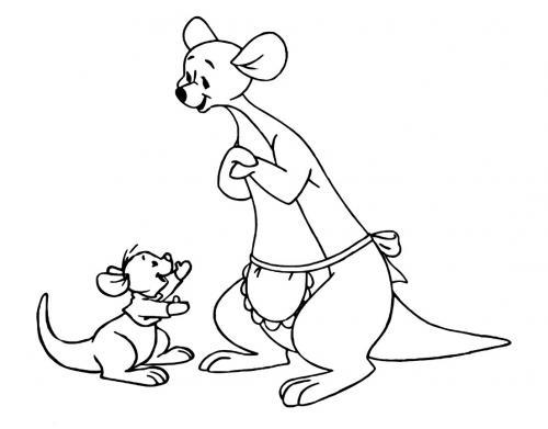 canguro e mamma