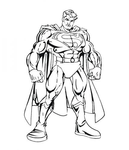 caricatura Superman