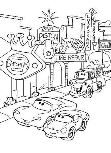 cars cartone