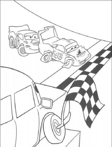 Cars da colorare e stampare