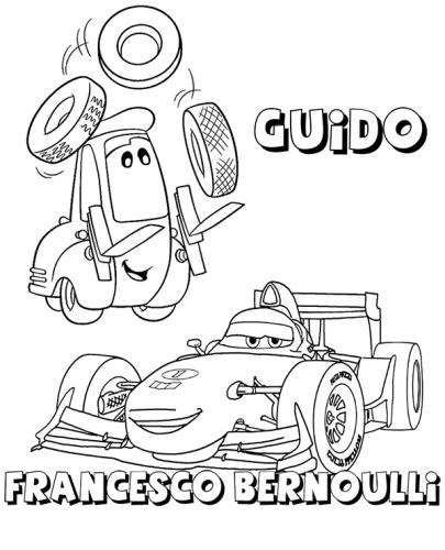 cars da colorare on line