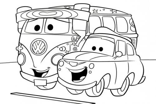 cars da colorare per bambini