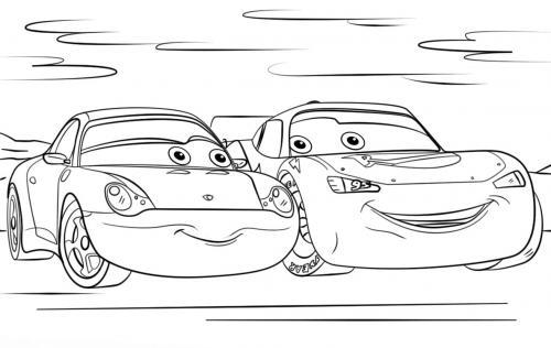 Cars da colorare