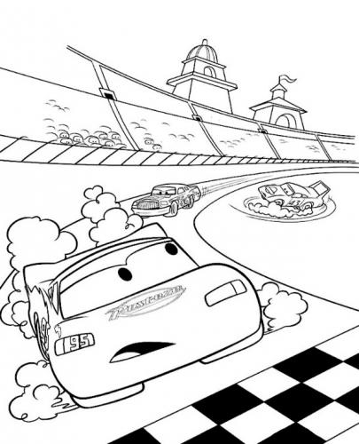 cars disegni da colorare