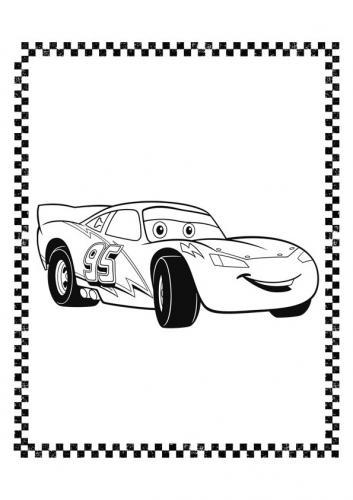 Cars immagini da colorare